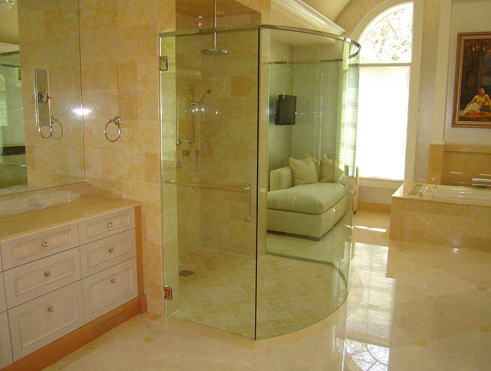 custom glass enclosures design